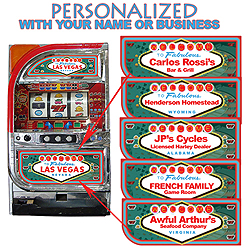 Custom Slot Machines, Slots