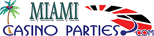 Miami Casino Parties Logo (c) 2003.